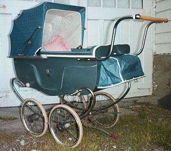 bilt rite pram circa 1950 s baby carriage
